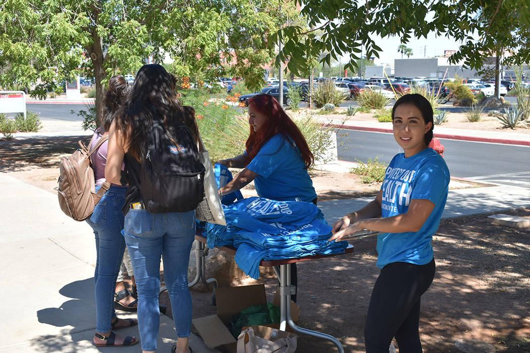 El evento contó con la participación de distintas organizaciones ambientalistas y estudiantes de UNLV. Jueves 6 de septiembre de 2018 en UNLV. Foto Anthony Avellaneda / El Tiempo.
