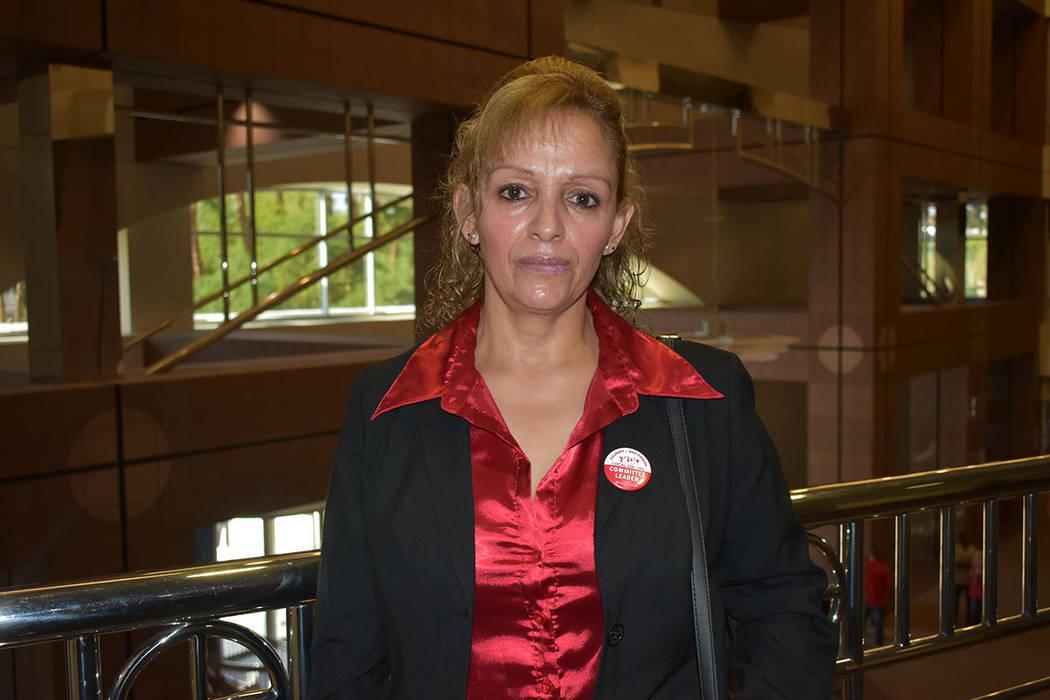 """Sobre el acoso sexual a trabajadores de la industria hotelera, la señora Virginia Mendoza aseguró que """"sí pasa, no es un juego"""". Miércoles 5 de septiembre de 2018 en el edificio federal Gr ..."""