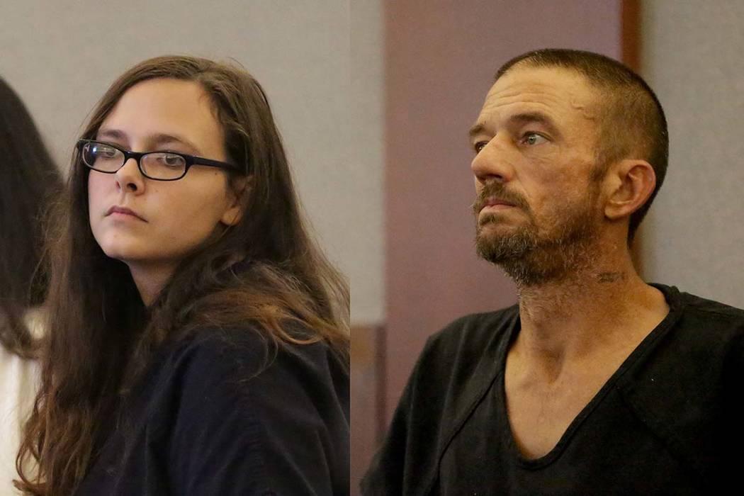Cassie Smith y Joshua Oxford enfrentan cargos por la muerte de su hijo de 3 años, Daniel Theriot. (Michael Quine / Las Vegas Review-Journal) @ Vegas88s