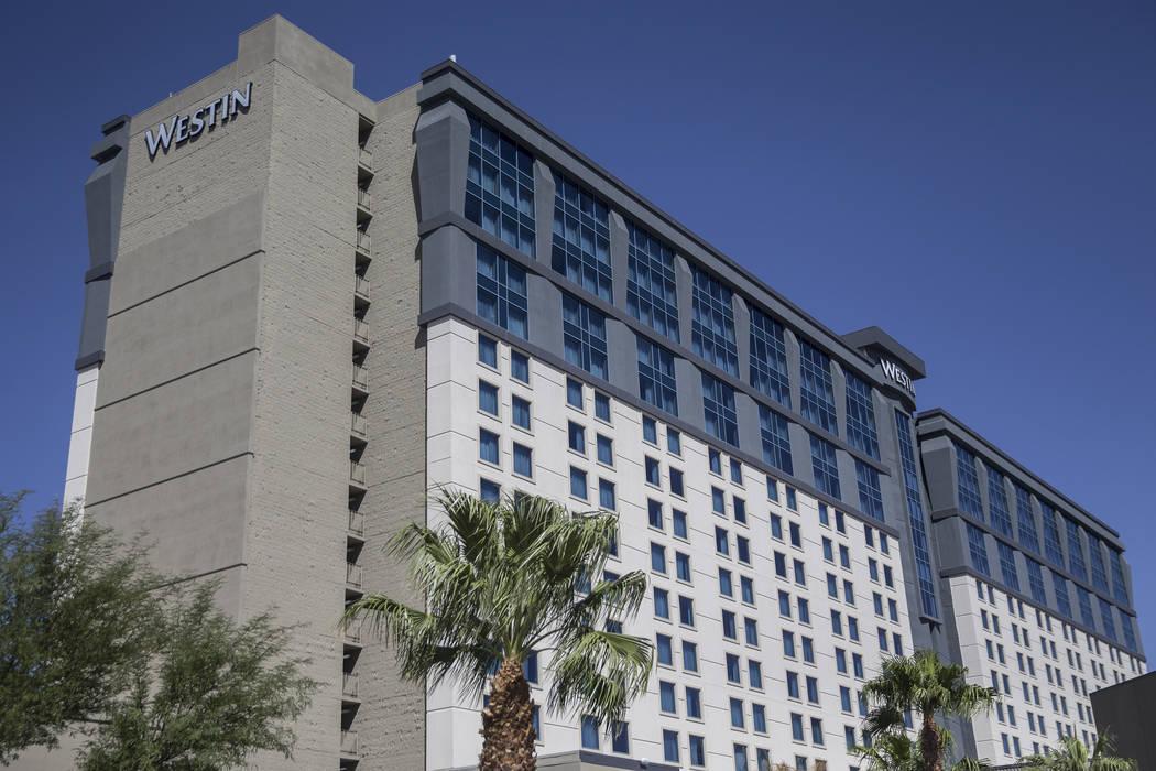 The Westin, en 160 E. Flamingo Road, se vendió recientemente por $195 millones. Foto tomada el miércoles, 12 de septiembre de 2018, en la ubicación del Strip de las propiedades, en Las Vegas. B ...