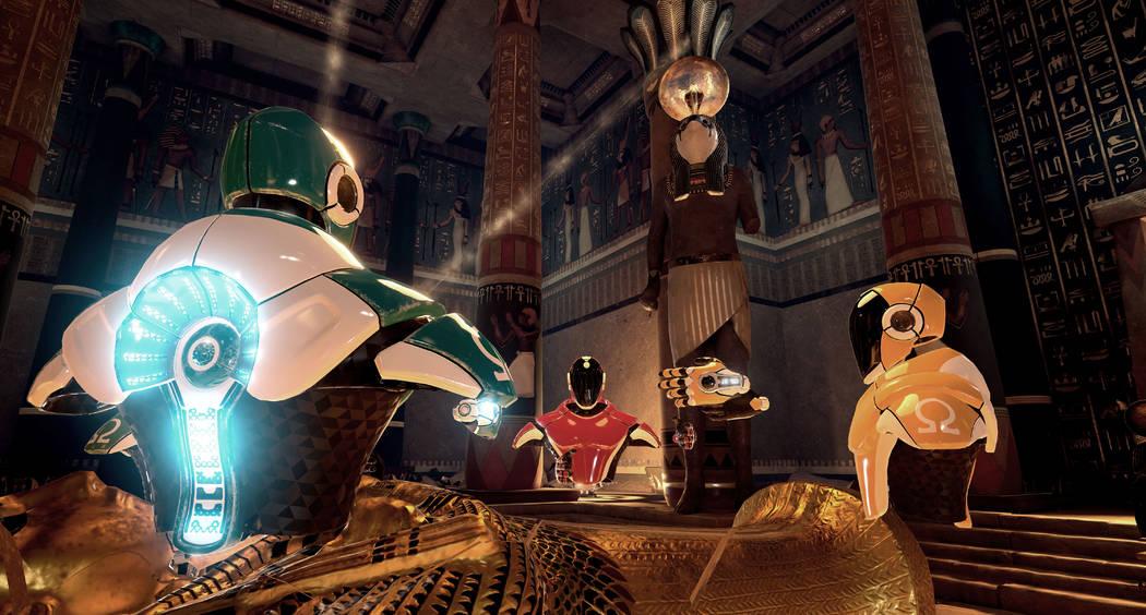 Madame Tussauds en The Grand Canal Shoppes de The Venetian está agregando una atracción de realidad virtual donde los jugadores pueden jugar en escenarios que incluyen el Antiguo Egipto, la Edad ...