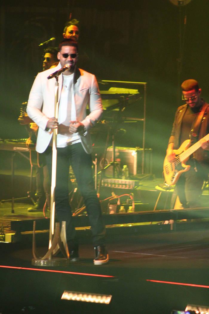 El más reciente disco y tour de Romeo son titulados Golden. Sábado 15 de septiembre del 2018. Garden Arena MGM. Foto Cristian De la Rosa / El Tiempo - Contribuidor.