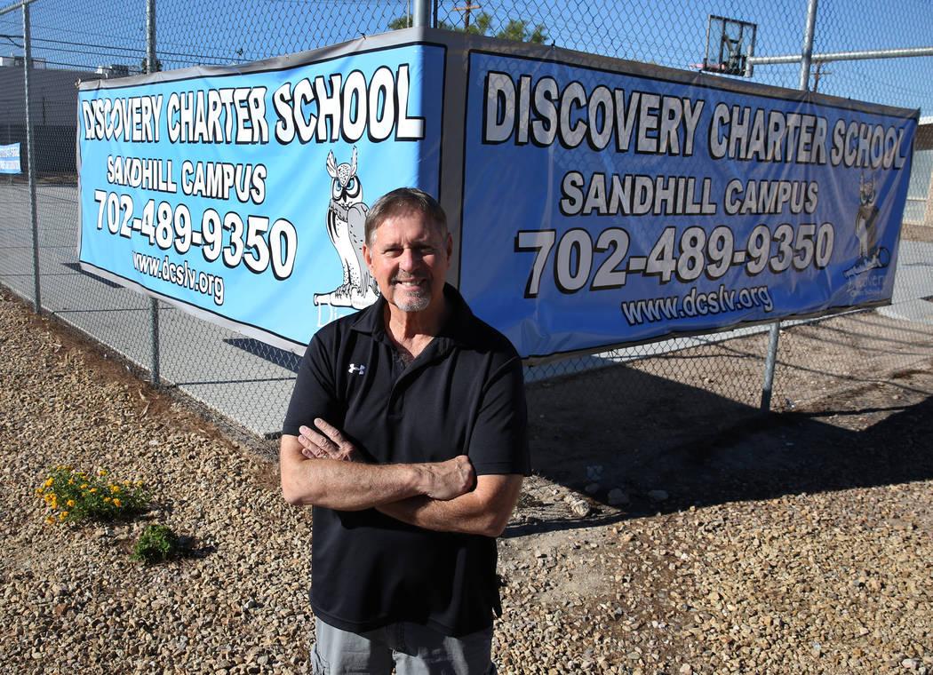 John Haynal, el receptor estatal de Discovery Charter School, posa para una foto el viernes 14 de septiembre de 2018 en Las Vegas. (Bizuayehu Tesfaye / Las Vegas Review-Journal) @bizutesfaye