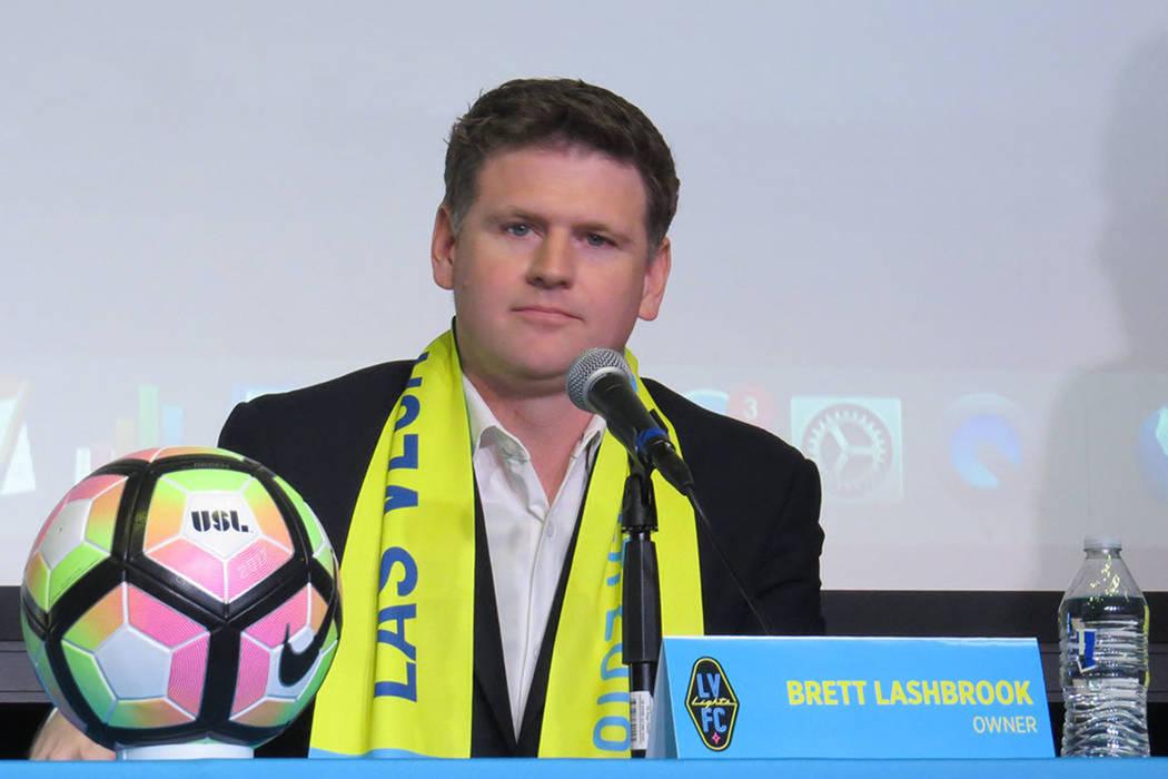 Brett Lashbrook, propietario de Las Vegas Lights FC. Foto Anthony Avellaneda / El Tiempo - Archivo.