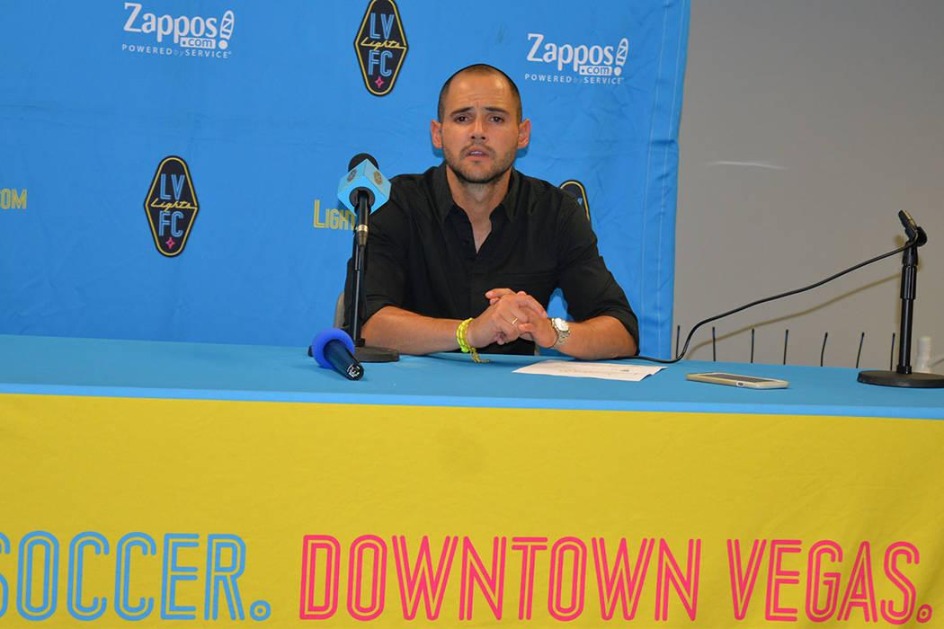 Isidro Sánchez, entrenador de Las Vegas Lights FC. Foto Frank Alejandre / El Tiempo - Archivo.