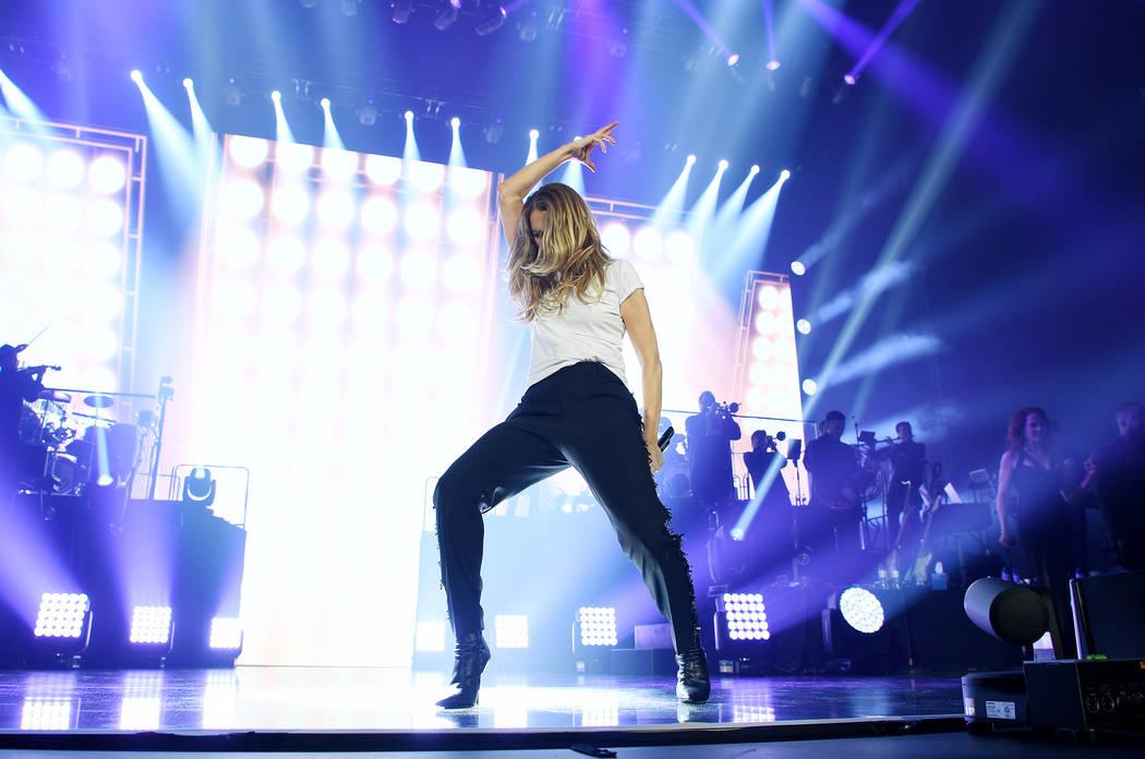 Celine Dion abre una gira europea en Copenhague, Dinamarca, el 17 de junio. (Denise Truscello)