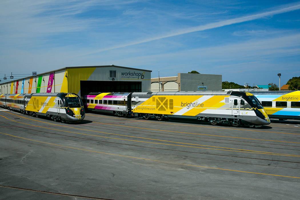 Se tiene previsto construir un tren expreso que conectará a Las Vegas con el Sur de California. [ Foto Cortesía ]