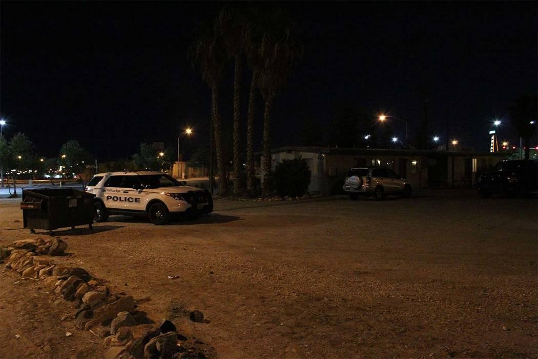 La policía de North Las Vegas está investigando después de que un hombre de 22 años fuera baleado y asesinado el lunes 24 de septiembre de 2018 en un complejo de apartamentos de North Las Vega ...