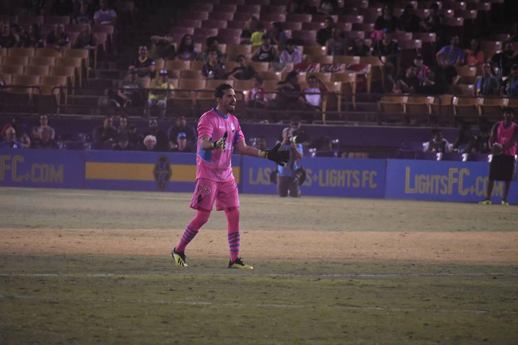 Pese a anotar 3 goles, Lights FC no pudieron sumar puntos ante Orange County. Miércoles 26 de septiembre de 2018 en Cashman Field. Foto Anthony Avellaneda / El Tiempo.