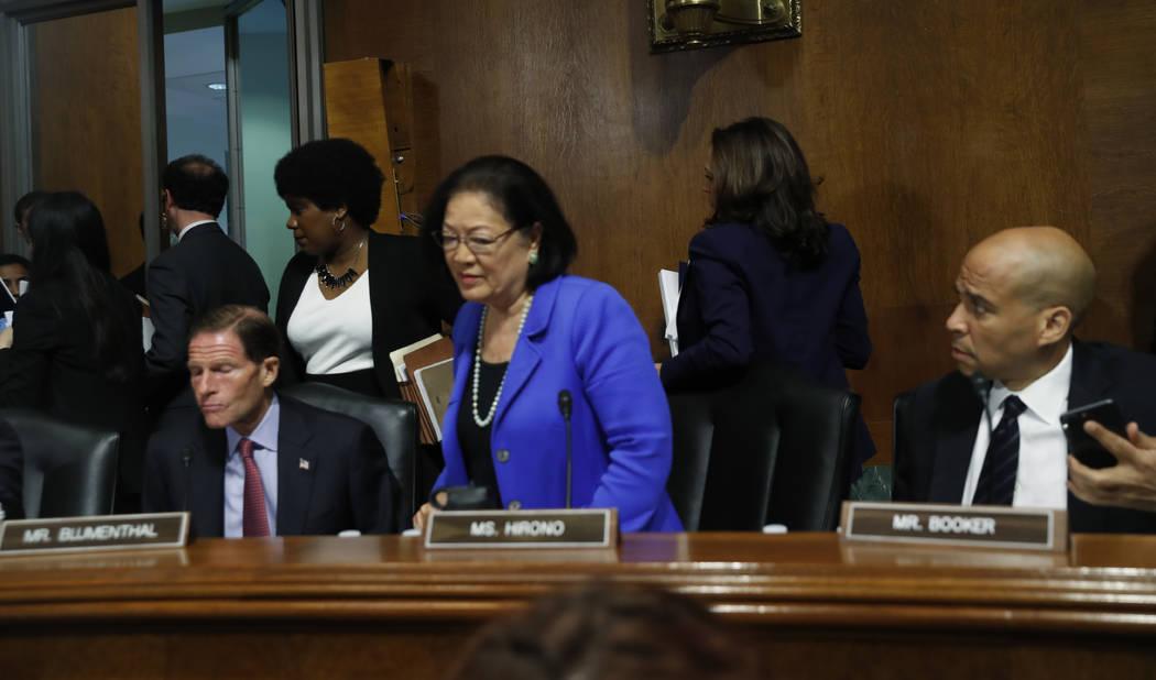 Resultado de imagen para comite judicial del senado democratas
