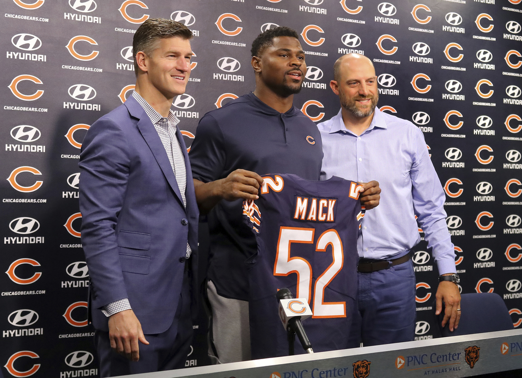 Bears Mack Football