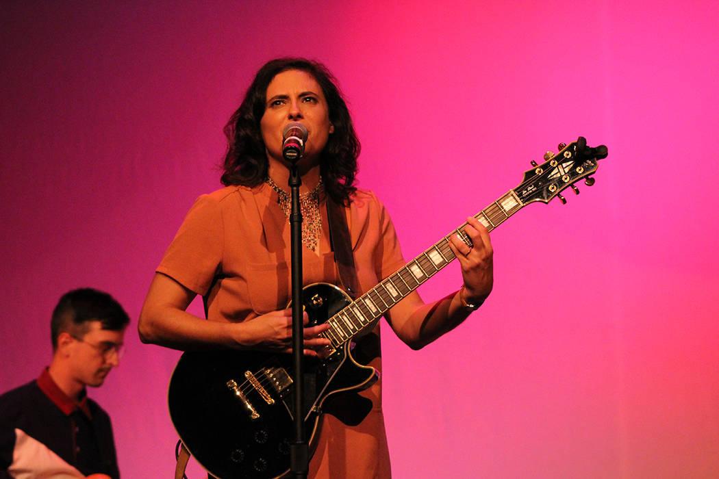Sara Lucas, Estados Unidos. Viernes 28 de septiembre de 2018 en el Teatro Winchester. Foto Cristian De la Rosa / El Tiempo - Contribuidor.