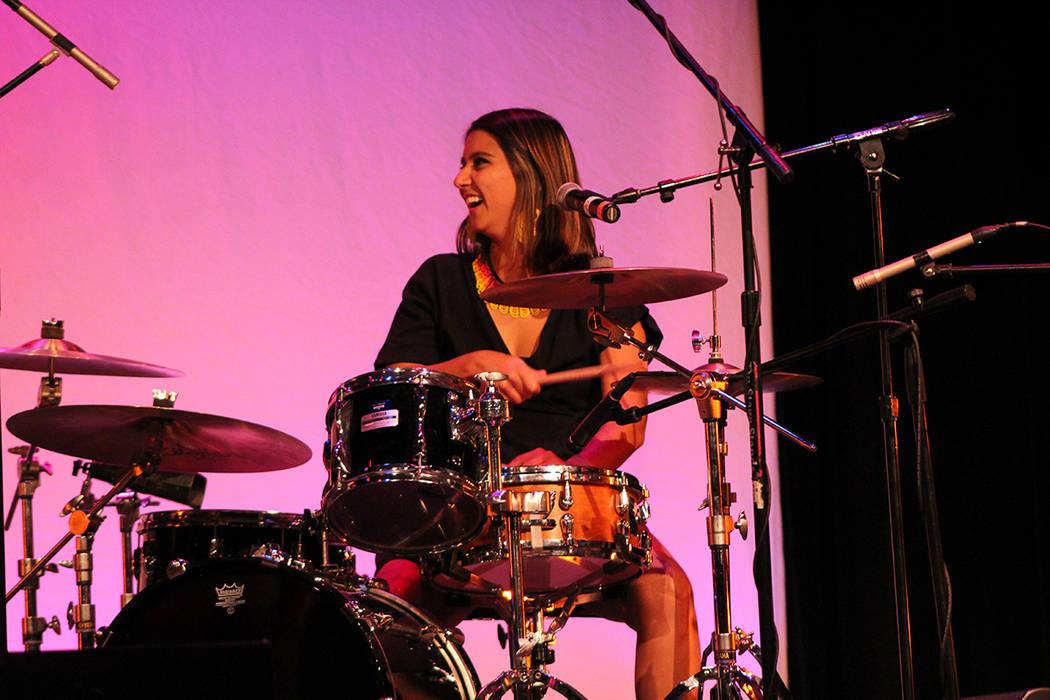 Lara Klaus, Brasil. Viernes 28 de septiembre de 2018 en el Teatro Winchester. Foto Cristian De la Rosa / El Tiempo - Contribuidor.
