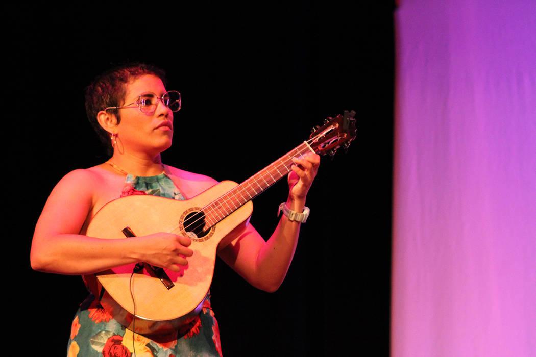 Mafer González, Venezuela. Viernes 28 de septiembre de 2018 en el Teatro Winchester. Foto Cristian De la Rosa / El Tiempo - Contribuidor.