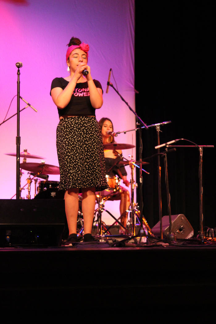 Daniela Serna, Colombia. Viernes 28 de septiembre de 2018 en el Teatro Winchester. Foto Cristian De la Rosa / El Tiempo - Contribuidor.