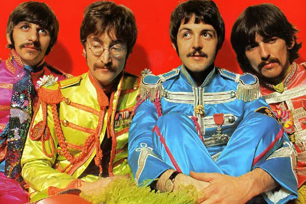 "Portada del álbum ""Sgt. Pepper's Lonely Heart Club"" de The Beatles (The Beatles / TNS)"