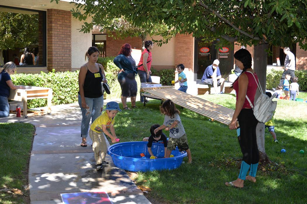 Más del 50 por ciento de los niños que acuden a este centro son de origen latino. Viernes 28 de septiembre de 2018, en Easterseal Nevada Charleston Campus. Foto Frank Alejandre / El Tiempo.