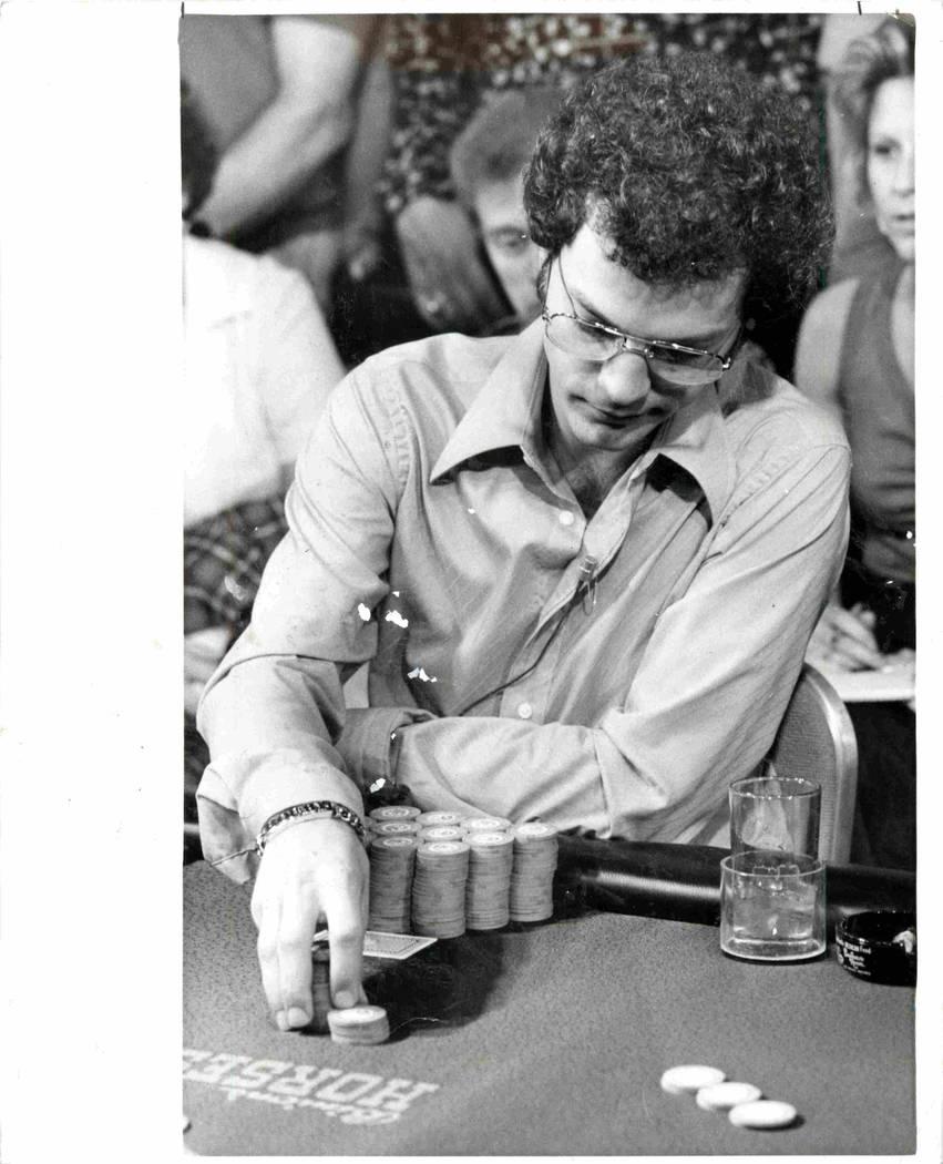 Bobby Baldwin - Presidente de Golden Nugget y Campeón de World of Poker de 1978 (Foto de archivo/Las Vegas Review Journal)
