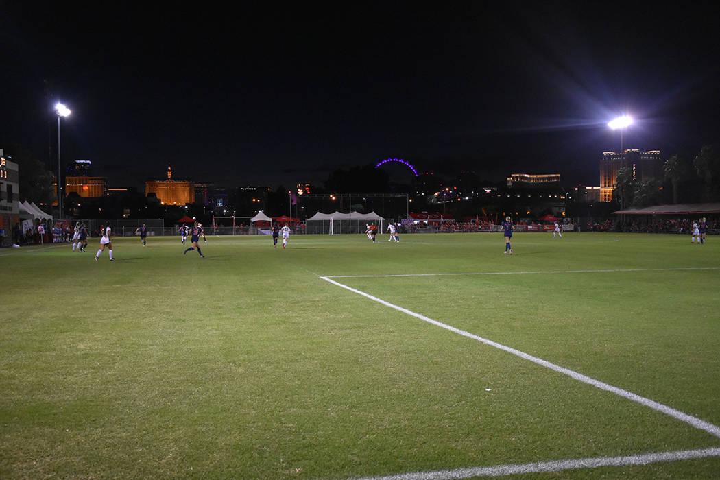 En su partido de aniversario, UNLV derrotó por 2-1 a Fresno State. Viernes 5 de octubre de 2018 en campo Peter Johan Memorial. Foto Anthony Avellaneda / El Tiempo.