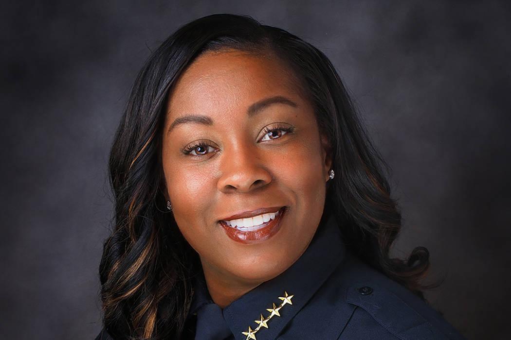 Jefa de policía de Henderson, LaTesha Watson (Ciudad de Henderson)