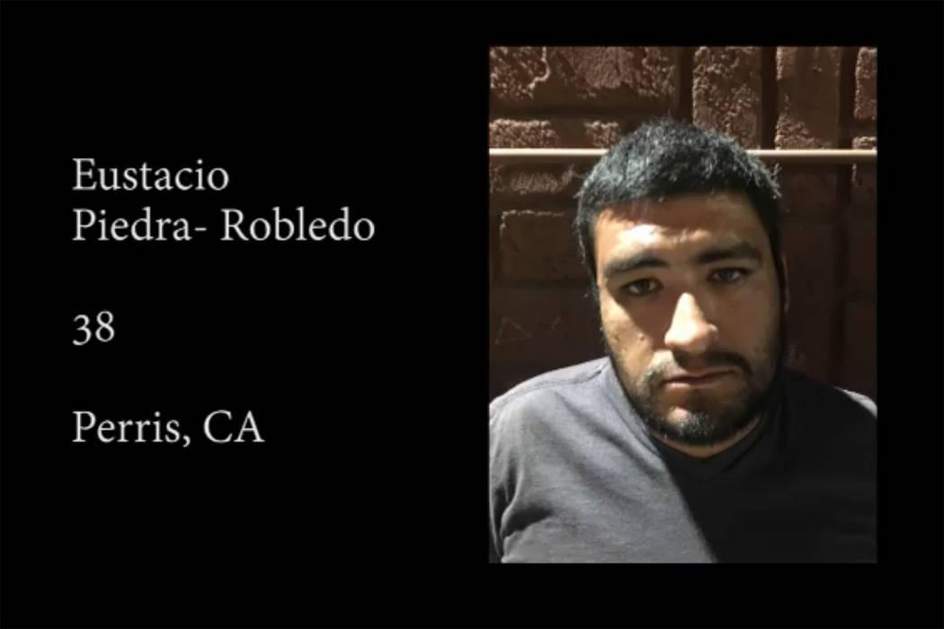 Eustacio Piedra-Robledo (Oficina del Sheriff del Condado de Nye/Facebook)