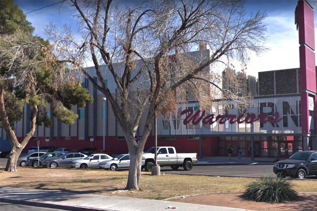 Western High School en Las Vegas (Google Street View)