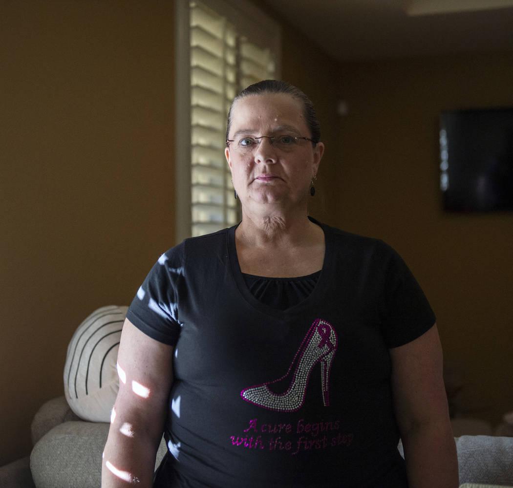A Kelly Trolia se le diagnosticó cáncer de mama metastásico en etapa cuatro en junio de 2017. Hace aproximadamente cuatro semanas, Trolia se hizo su primera mastectomía. Caroline Brehman / Las ...