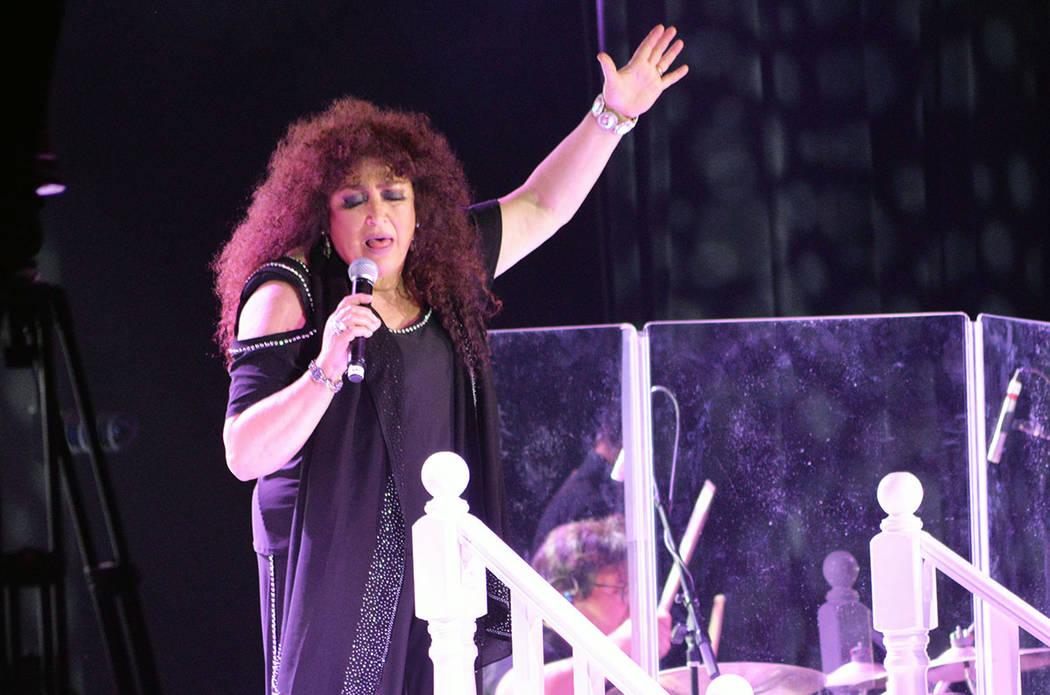 Amanda Miguel no ha perdido sus cualidades vocales. Viernes 12 de octubre de 2018 en el Dallas Events Center dentro del Texas Station. Foto Frank Alejandre / El Tiempo.
