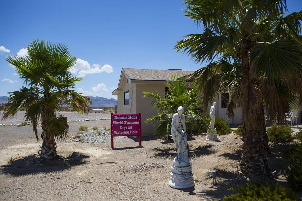El exterior del burdel Love Ranch en Crystal, justo al norte de Pahrump, el viernes 20 de julio de 2018. Chase Stevens Las Vegas Review-Journal @csstevensphoto