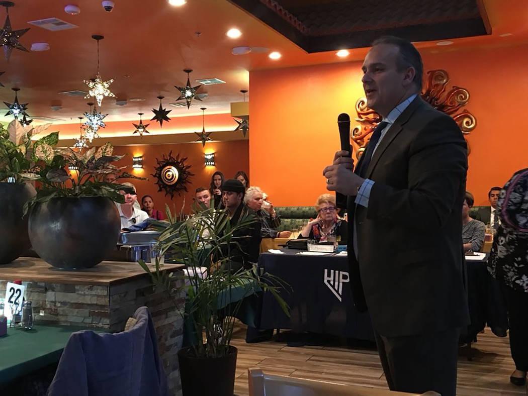 Líderes hispanos dieron la bienvenida al superintendente del CCSD, Jesús Jara. Miércoles 22 de agosto de 2018, en el restaurante La Cabaña. Foto Cortesía CCSD.