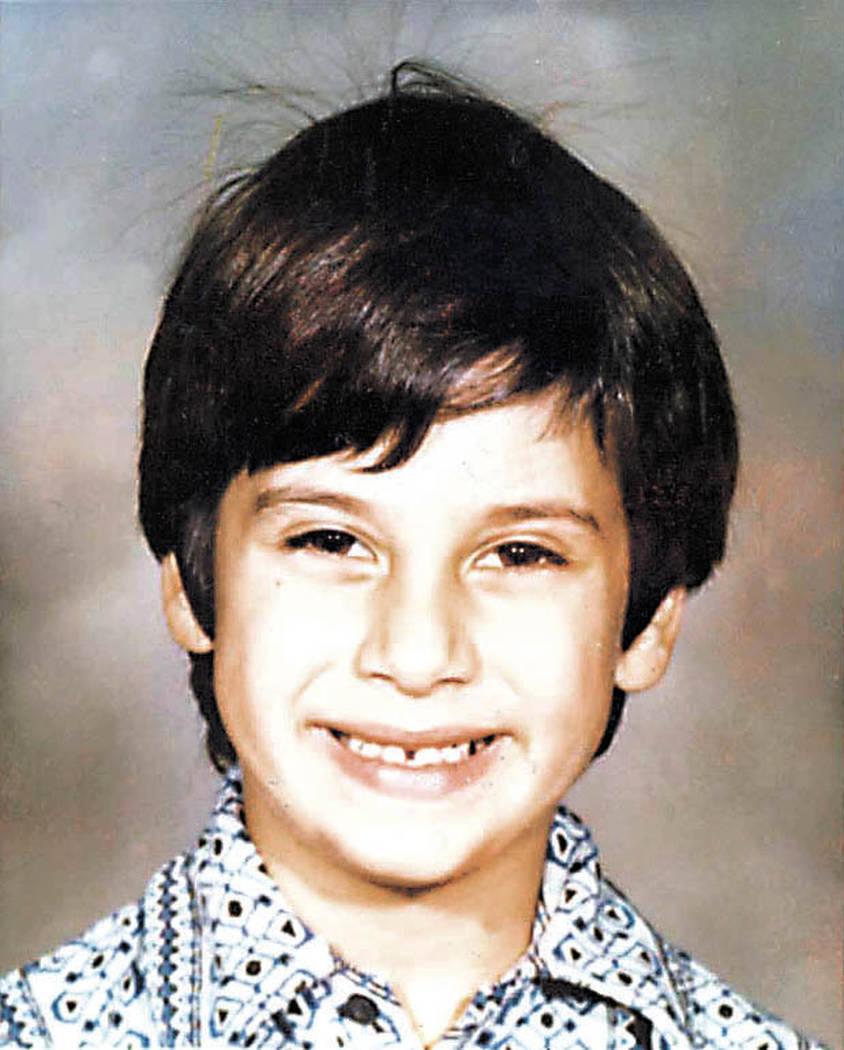 Cary Sayegh fue secuestrado en el patio de recreo de la Escuela Hebrea Albert Einstein en Las Vegas en 1978. Su cuerpo nunca fue encontrado. (Foto de archivo)