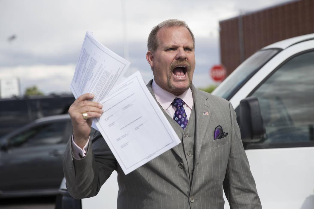 El miembro de la Junta Directiva del Distrito Escolar del Condado de Clark, Kevin Child, aparece en Las Vegas en esta foto de archivo. Erik Verduzco / Las Vegas Review-Journal
