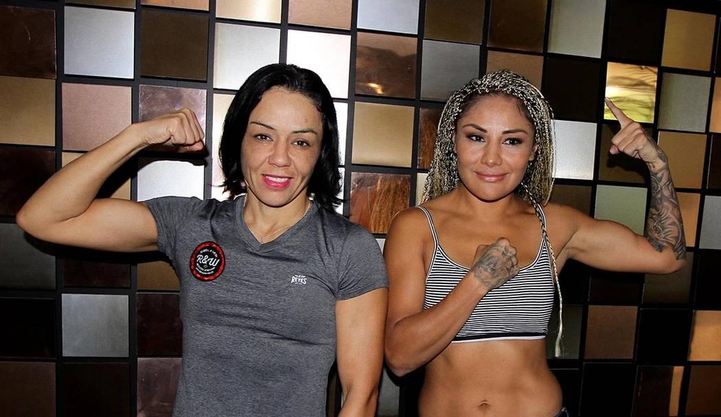 Archivo. México, 7 Ago 2018 (Notimex-Guillermo Granados).- Las boxeadoras mexicanas Jackie Nava y Mariana Juárez.