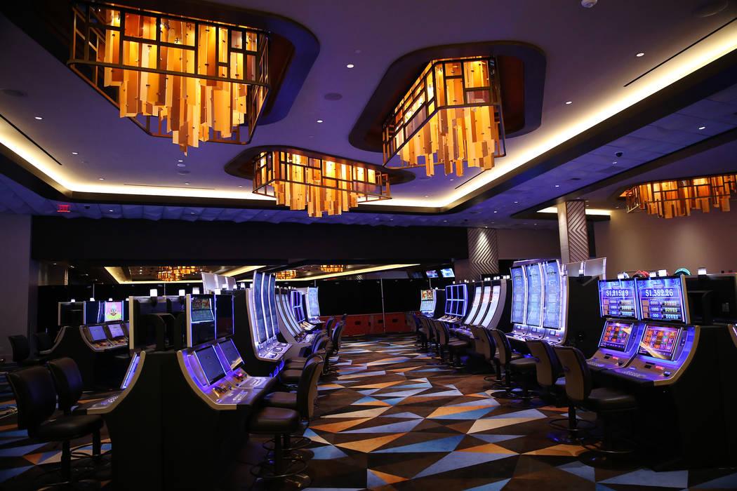 El piso del casino dentro del área de expansión de la Estación Palace en Las Vegas, miércoles 20 de junio de 2018. (Erik Verduzco / Las Vegas Review-Journal) @Erik_Verduzco