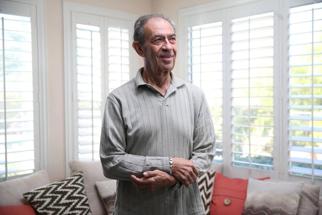 Joseph Frank, un sobreviviente del Holocausto, en su casa de Henderson, el miércoles 31 de octubre de 2018. Erik Verduzco Las Vegas Review-Journal @Erik_Verduzco