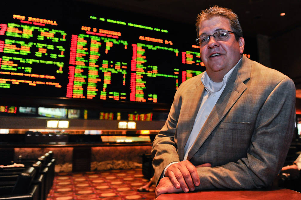 El director de apuestas deportivas de MGM Resorts, Jay Rood, visto en 2012. (Las Vegas Review-Journal)