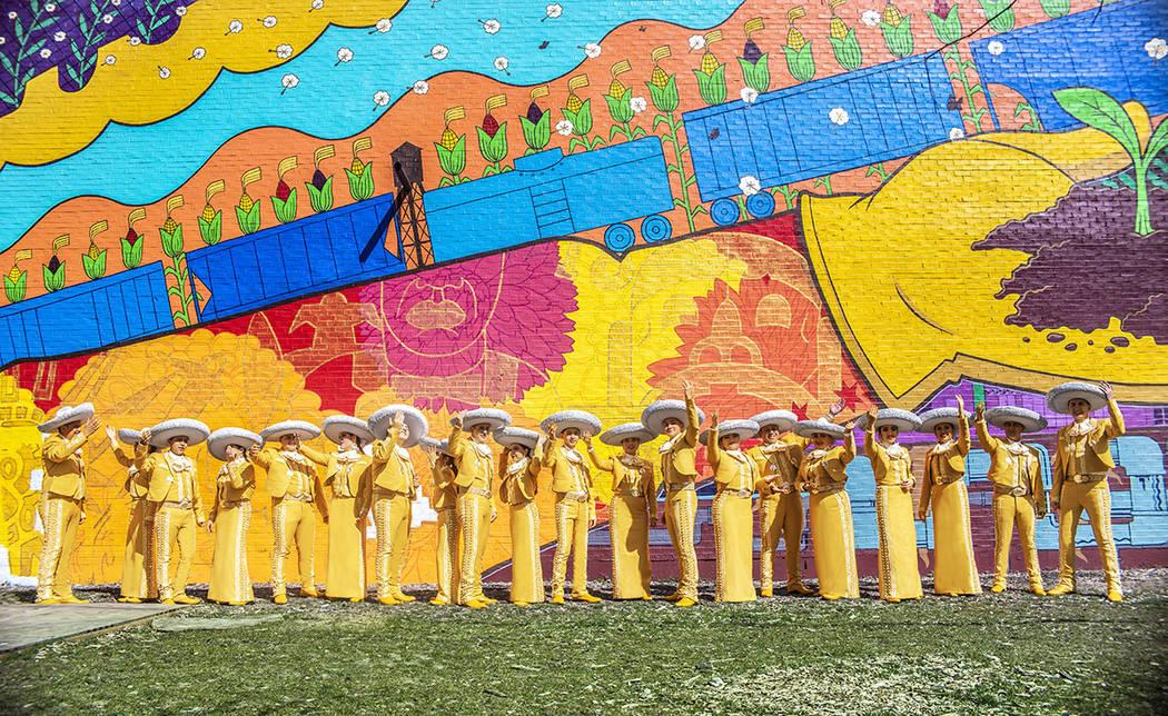 Mariachi Herencia de México. Foto Cortesía.