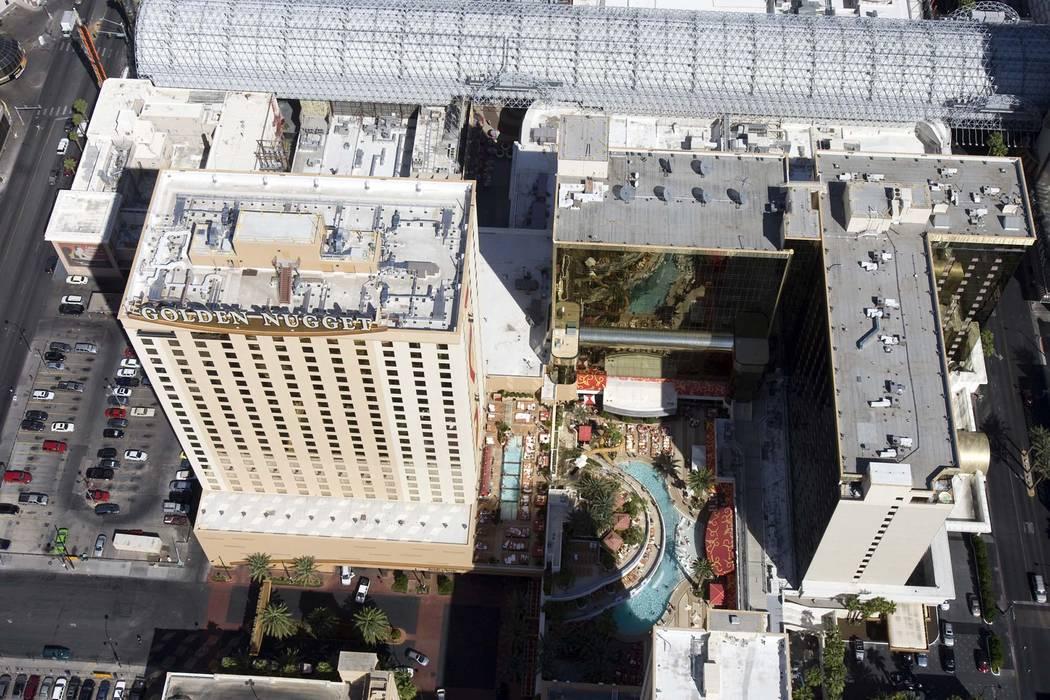 El Golden Nugget en el Centro de Las Vegas (K.M. Cannon / Las Vegas Review-Journal)