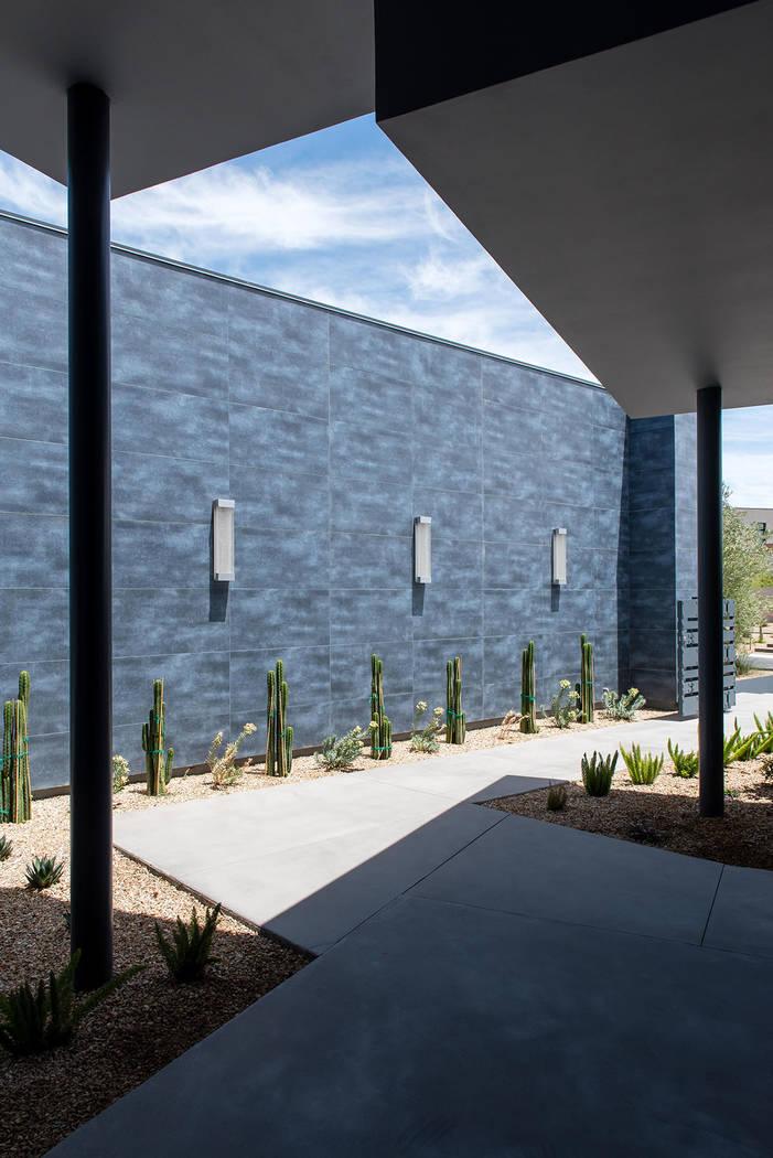 La casa cuenta con un diseño moderno. (Steve Morgan)