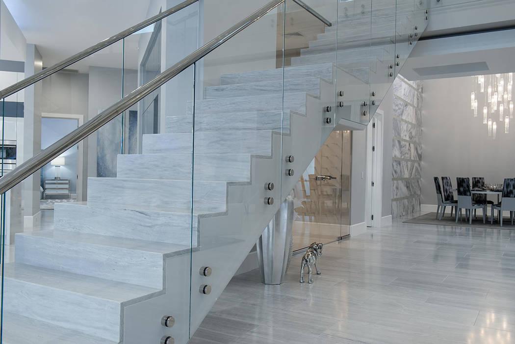 La escalera. (Steve Morgan)