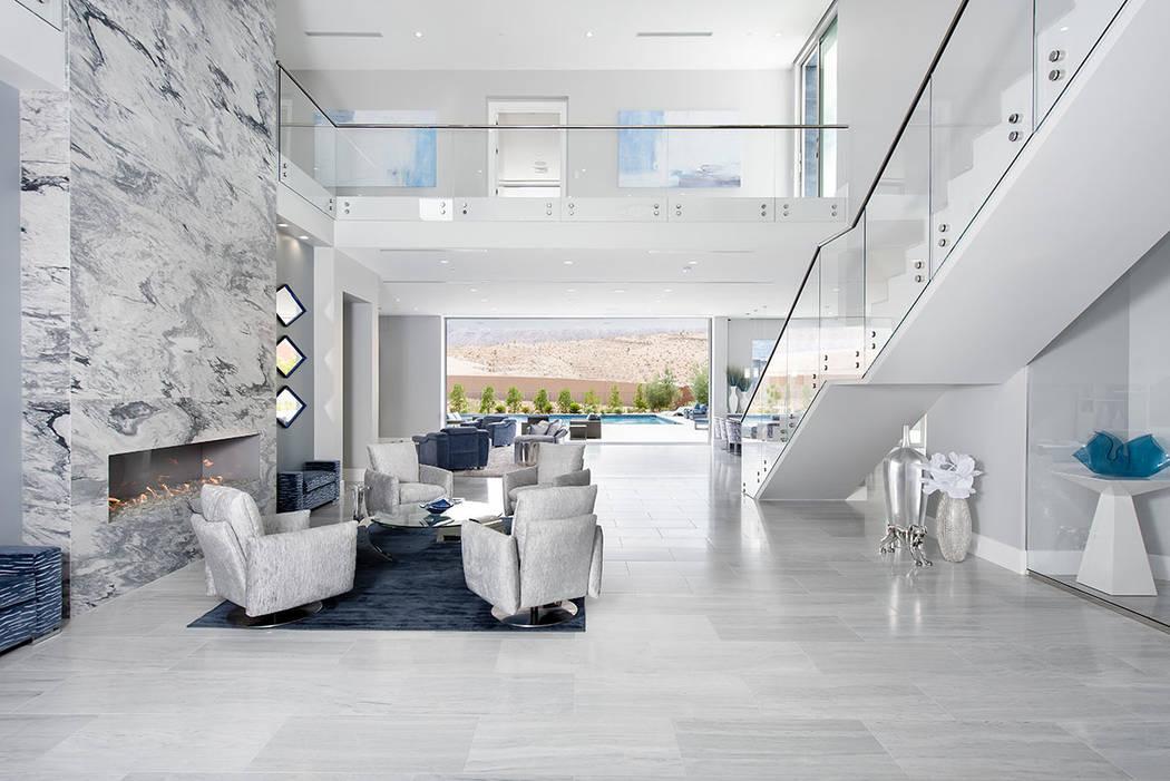 La casa tiene características de vida interior-exterior. (Steve Morgan)