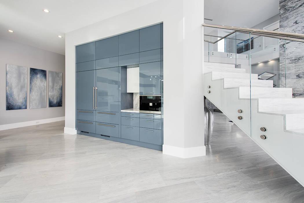 La casa tiene materiales de lujo y acabados personalizados (Steve Morgan).