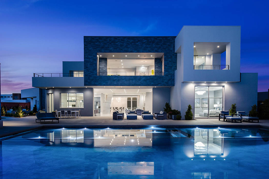 La casa de Summerlin tiene una cotización de casi $10 millones. (Steve Morgan)