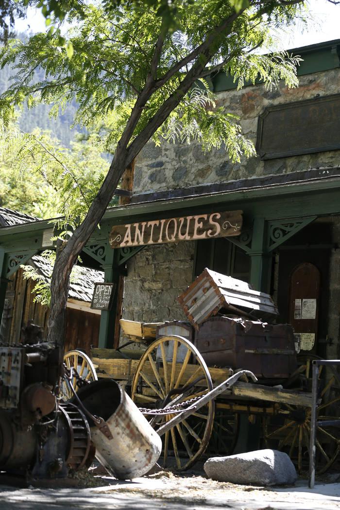Hace casi 50 años, Ron Bommarito compró la tienda que aún alberga su Museo y Archivos de Génova, en Génova, Nevada, el jueves 28 de junio de 2018. Cathleen Allison / Las Vegas Review-Journal