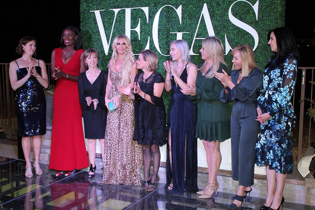 """10 mujeres que participan en organizaciones no lucrativas fueron reconocidas en """"Vegas Gives"""". Miércoles 7 de noviembre de 2018, en Fairwall Hills in The Ridges, Summerlin. Foto Cristian De l ..."""