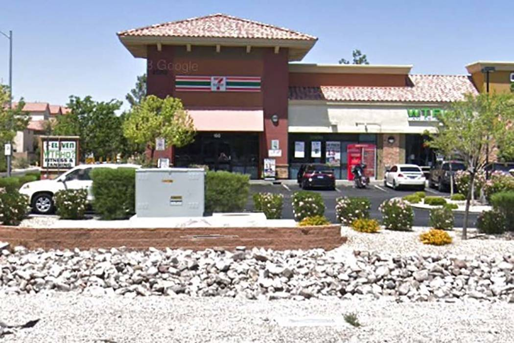 7-Eleven en 8180 Blue Diamond Road en el suroeste de Las Vegas. (Google)
