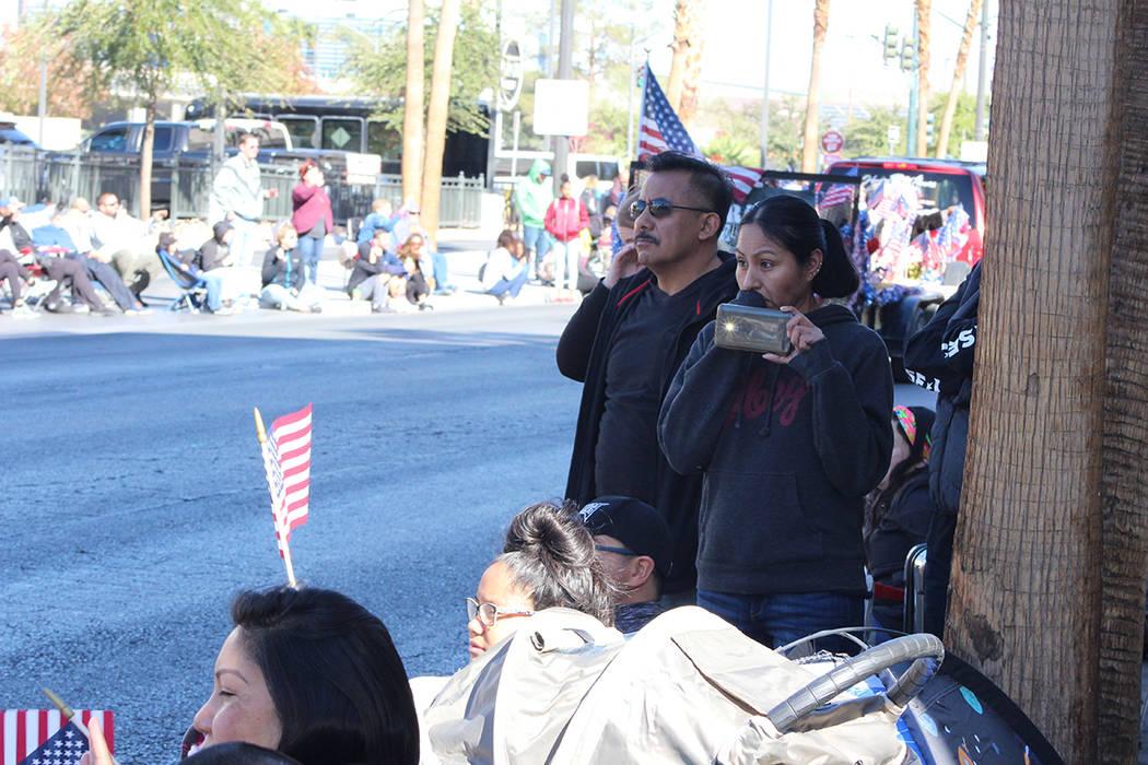 Desfile del Día de los Veteranos. Domingo 11 de noviembre de 2018, en la Calle 4. Foto Cristian De la Rosa / El Tiempo - Contribuidor.