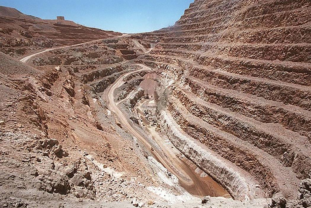 Una mina de Barrick Gold Corp. en Nevada. (Las Vegas Review-Journal archivo)