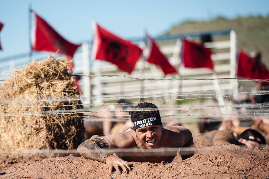Un atleta compite en una reciente carrera espartana. Foto cortesía de Spartan Race, Inc.