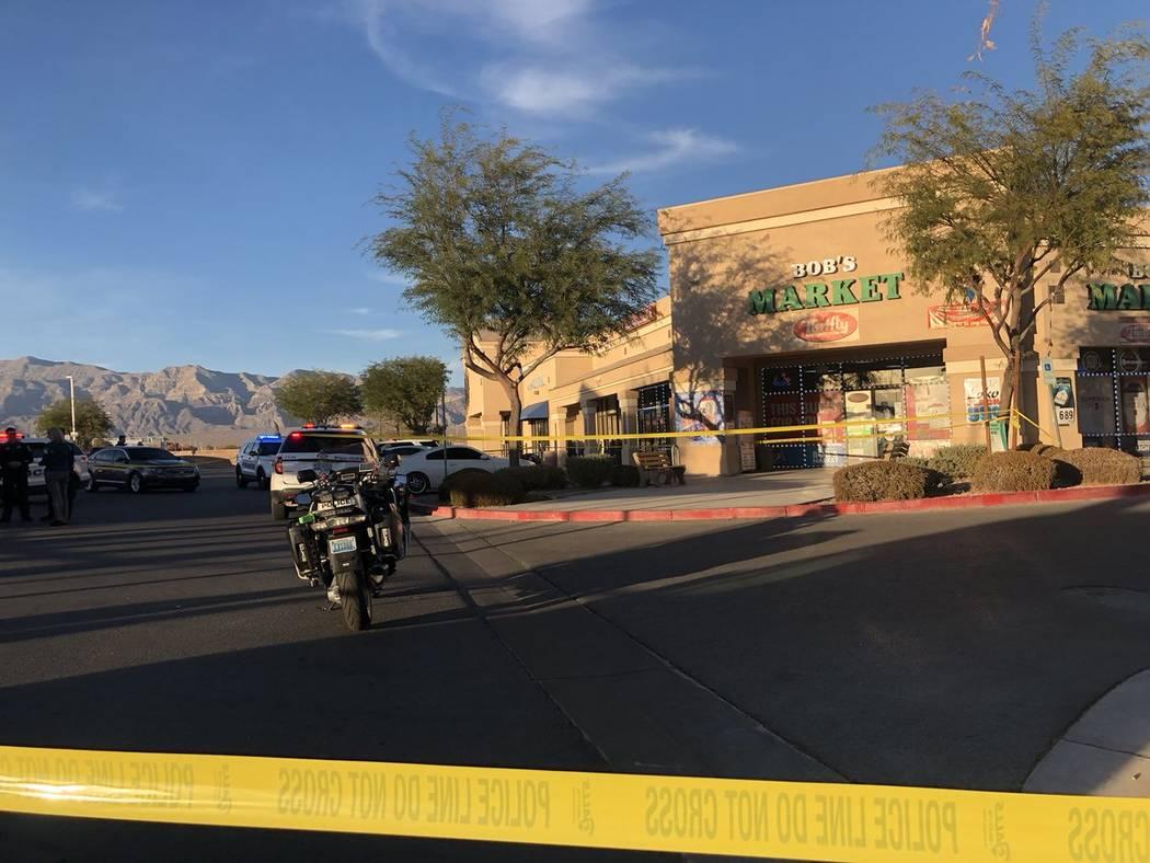 Un joven de 16 años fue hospitalizado, pero se espera que sobreviva después de un tiroteo en North Las Vegas el martes 13 de noviembre de 2018, informó la policía. (Katelyn Newberg / Las Vegas ...